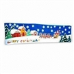 Christmas Banner with Heat Transfer and Digital Printing