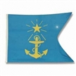Boat Flag, Made of Spun Polyester