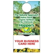 Recycled Cardboard Business Card Promotional Door Hanger Full Color