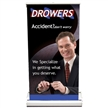 Countertop Promotional Retractable Banner Kit