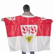 Body Flag,Cape Flag,Made of Woven Polyester with Logo or National Flag for Fan Use