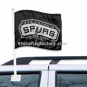 Decorative Car Flag, Available with Digital, Heat-transfer and Sublimation Printing