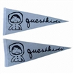 Triangle Felt Pennant Flag with Customized Design, for Sports Team,Club Exchange,Advertising Using